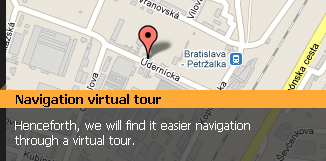 Navigation virtual tour